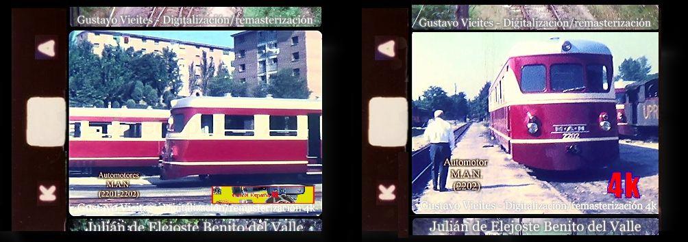 Automotores M.A.N. Ferrocarril MADRID-ALMOROX