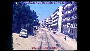 Ascendiendo por lo que hoy es la calle Sepúlveda (altura media luna).