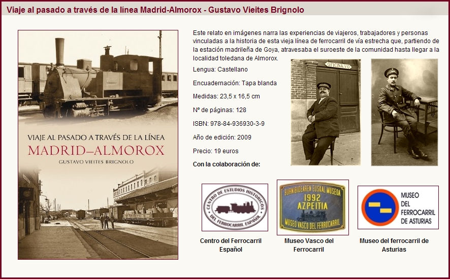 Libro Línea MADRID-ALMOROX