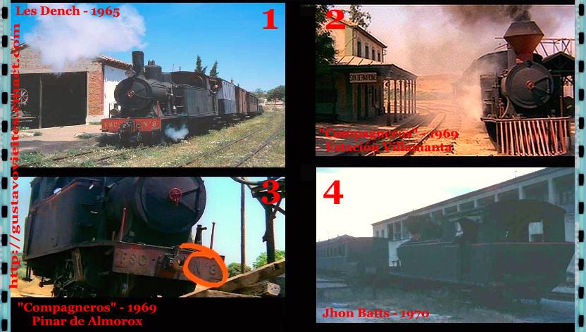 Locomotora N.º8 de los Ferrocarriles Secundarios de Castilla