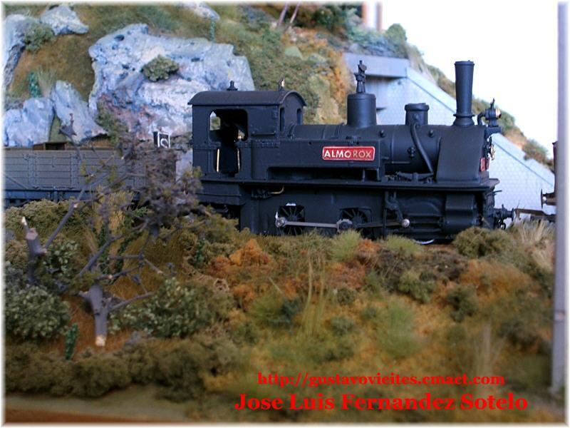 Locomotora KRAUSS (6703) Nº10, lateral