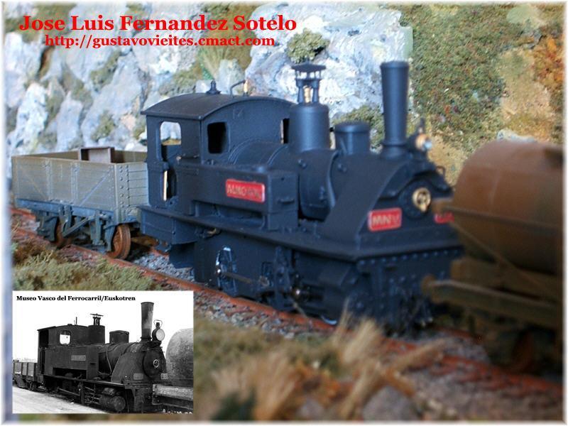 Locomotora KRAUSS (6703) Nº10, con vagones