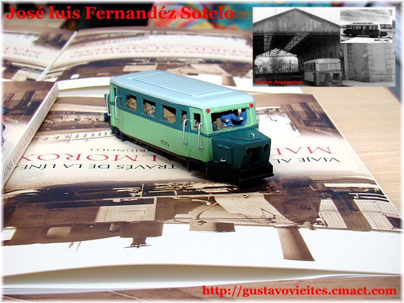 Automotor ZARAGOZA, obra de D.Jose Luis Fernandez Sotelo