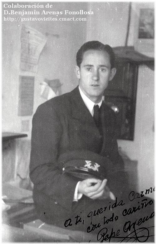 D. Alejandro Arenas, Jefe de la Estaci�n de M�stoles
