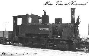 Locomotora KRAUSS-Nº2-GUADARRAMA(2299) de 1890.-
