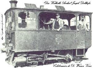 Locomotora Tranvía a Vapor (KRAUSS TRAMWAYLOKOMOTIVE BN2).-