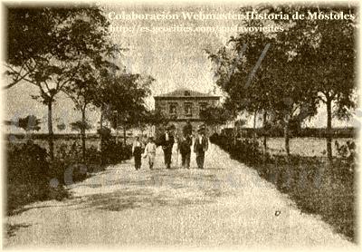 El Paseo de la Estación, Antigua Estación de Móstoles.-