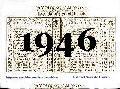 Horario de 1946, ya no existe el Apeadero COLONIA RAMÍREZ.-