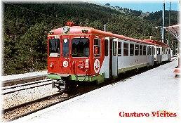 Unidad Territorial 442, fotografiada en 2000 en la Estación de Cotos