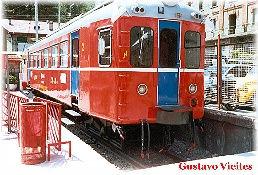 Segundo Modelo de la línea, fotografiado en la estación de Cercedilla(UT-431)
