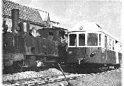 Automotor Billard y Locomotora a Vapor