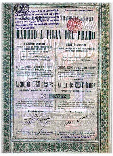 Acción Original de la Línea - Colaboración de D. Vicente Uceda Álvarez.-