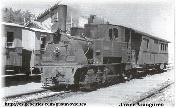 Locomotora Krauss Nº10(6703) (ALMOROX)- con furgón de Correos