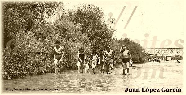 Baño en el Alberche