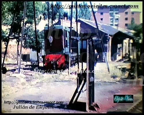Locomotora Batignolles 1208, en los talleres de GOYA