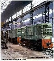 Locomotoras Batignolles en la Sala de ensamblaje de CAF