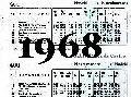 Horario de 1968, se han clausurado la mayoría de las estaciones, llega yá solo hasta NAVALCARNERO - Final de su Historia.-
