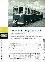 Automotor ferrostaal - Unidad de Remolque - Folleto Original de Fábrica