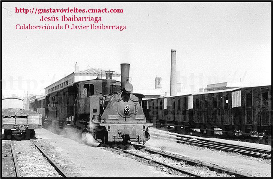 Locomotora KRAUSS Nº10 del Ferrocarril de MADRID a ALMOROX.-