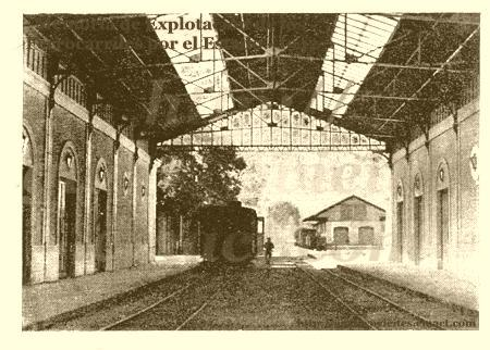 Estación de GOYA - Interior