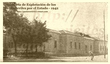 Estación de GOYA - Posterior