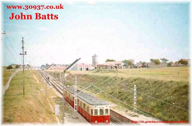Estación de Empalme en 1964