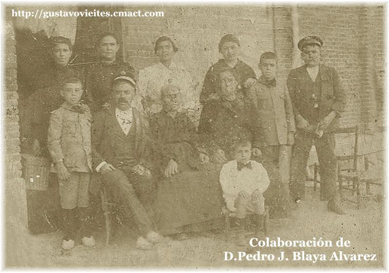 D.MARIANO ALVAREZ GONZALEZ, JEFE de la Estación de ALMOROX en 1915.-
