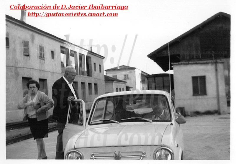 D. Jesús Ibaibarriaga, Jefe de Línea.