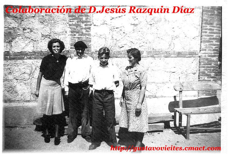 D.ª Mercedes DIAZ MORALES, Jefa de la estación de Alamín (Aprox.1941).-