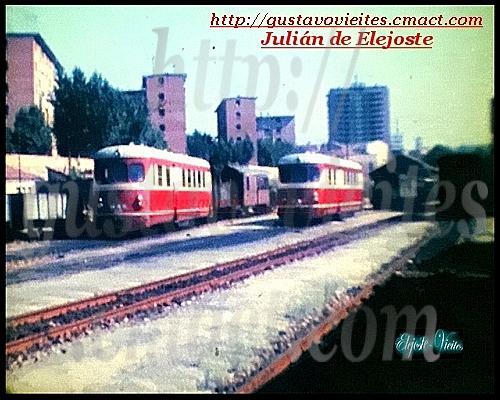Unidades MAN-220-2202 en la estación de GOYA.-