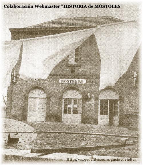 La Antigua Estación de Móstoles.-