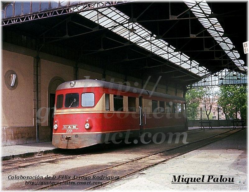 Unidad MAN-2201 en la estación de GOYA.-
