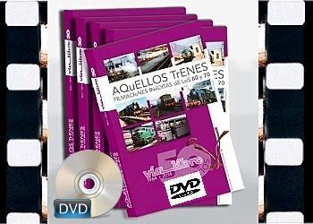 DVD AQUELLOS TRENES 50 Aniversario revista Vía Libre