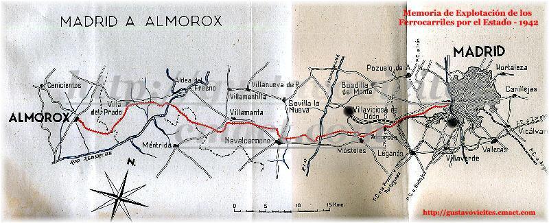 Plano donde puede apreciarse el Ferrocarril.-