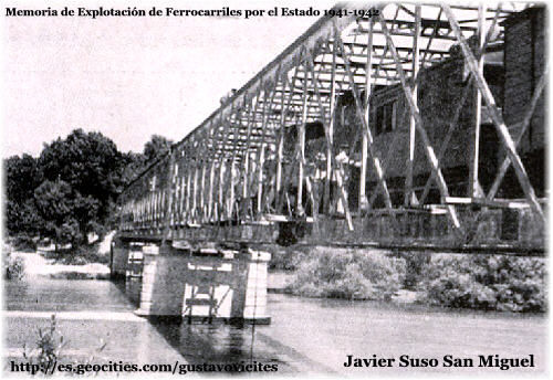 Puente sobre el río Alberche, colaboración de D. Javier Suso San Miguel