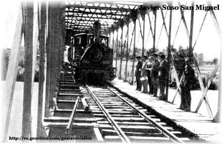 Pruebas de Cálculos de Carga sobre el Puente Alberche, colaboración de D. Javier Suso San Miguel