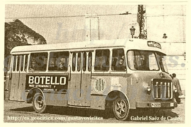 Autobús - Ramal Barrio Lucero Parada GOYA.-