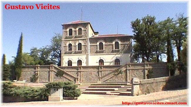 La estación de SAN MARTÍN de VALDEIGLESIAS reutilizada como Centro Cultural