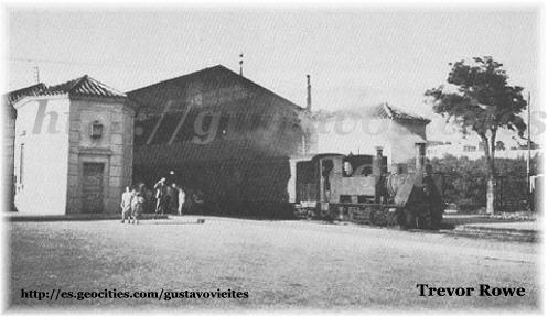 Locomotora Krauss y Viajeros, Partiendo de Goya.-