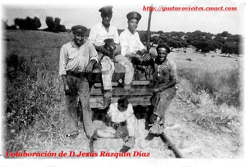 Vagoneta de Vías y Obras(1943).-