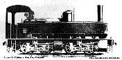 Locomotora COUILLET-Sistema MALLET(1076) Nº11 (ZARDO)