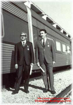 D.Francisco Rodríguez Uris y otro colega Ingeniero.-.-
