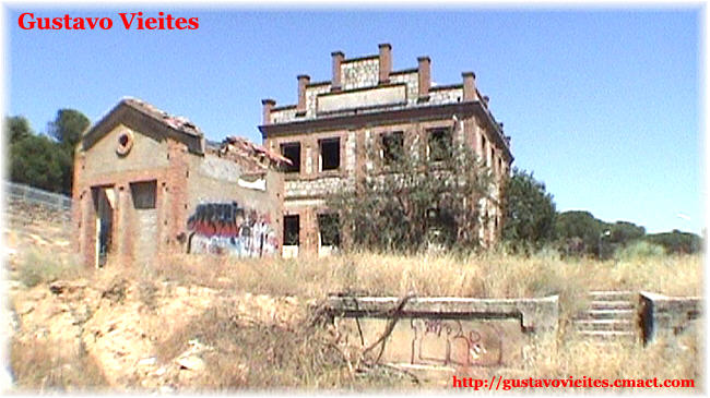 La estación de Pelayos en Julio de 2007