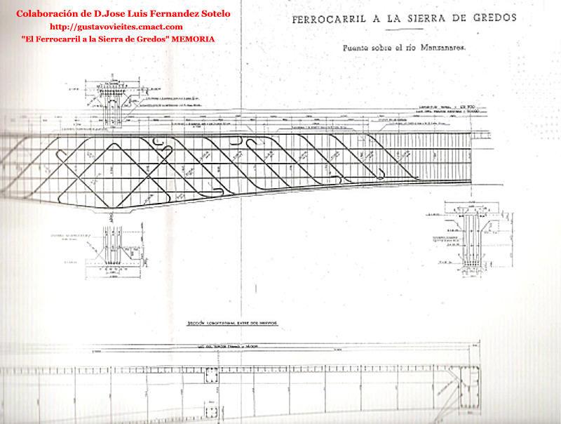 Proyecto de Puente sobre el río Manzanares