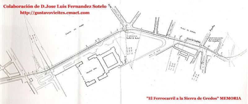 Proyecto de Penetración del Ferrocarril en Madrid.-