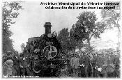 Inauguración del Ferrocarril VASCO-NAVARRO