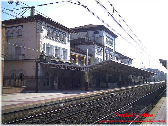 La estación de VITORIA-GASTEIZ en Septiembre de 2006